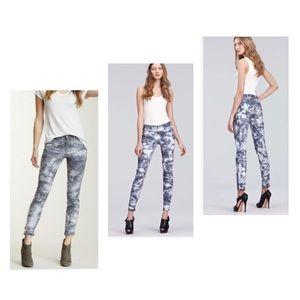 J Brand Style 810k Twisted Plum Tie Dye Jeans